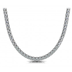 4 Prong Riviera Necklace not g